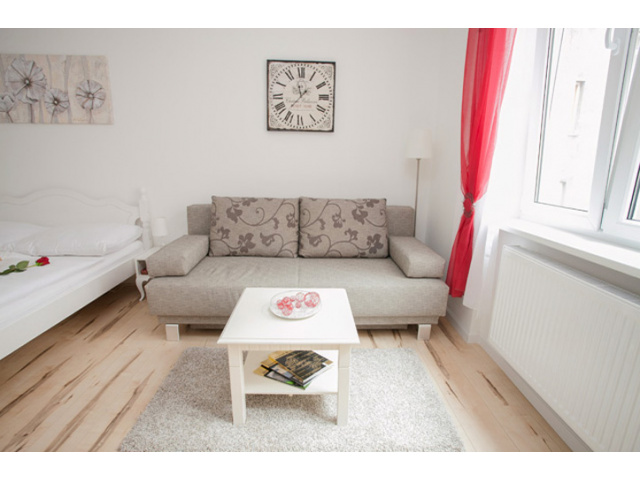 Apartment with King-size Bed and Sofa Bed - Vienna City
