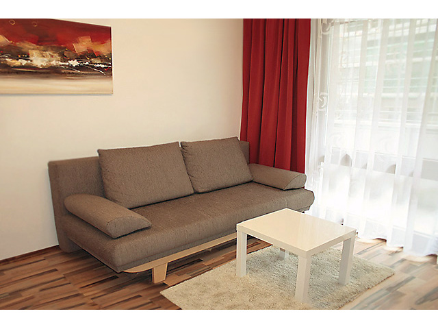 Comfortable Bed Couch - Apartment Kampstrasse Vienna