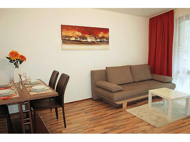 Livingroom, Apartment Vienna Kampstrasse