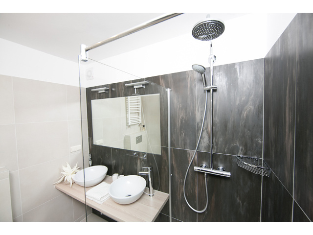 Bathroom of the fully equipped luxury apartment in Vienna