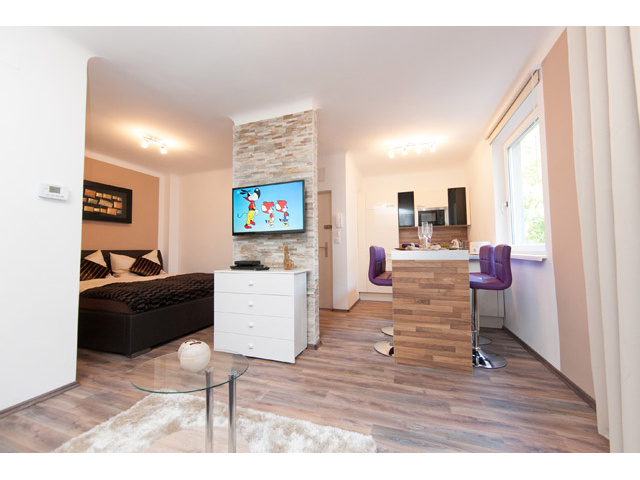 Apartment Design Vienna - LED TV and free internet